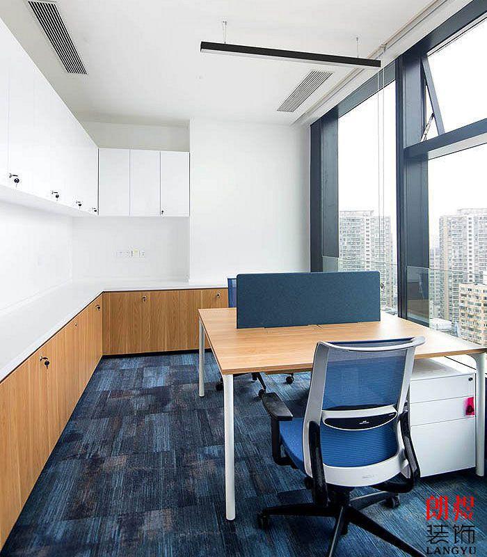 办公空间设计效果图独立办公位