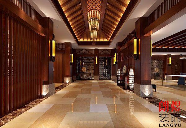 酒店装修设计中式风格