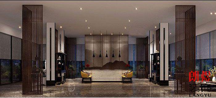 精品度假酒店设计大堂