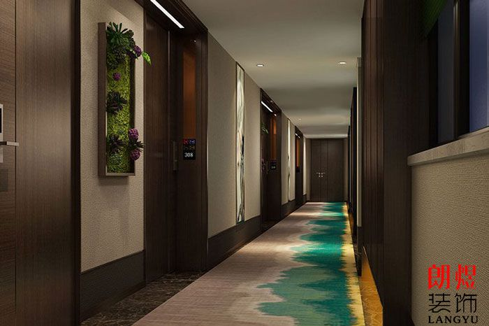 精品度假酒店设计走廊