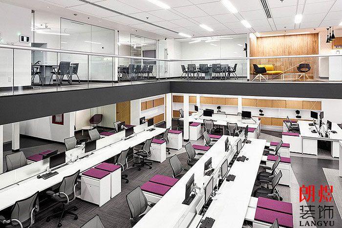 工业风办公空间设计办公大厅