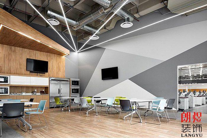 工业风办公空间设计水吧