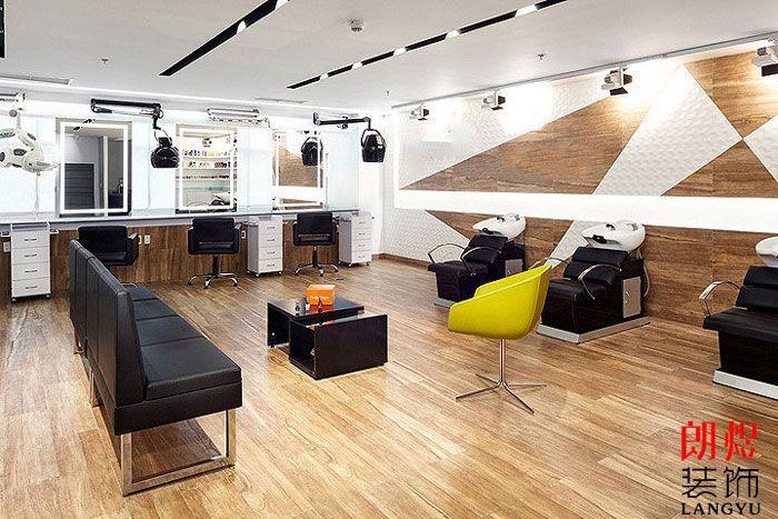 工业风办公空间设计休息区