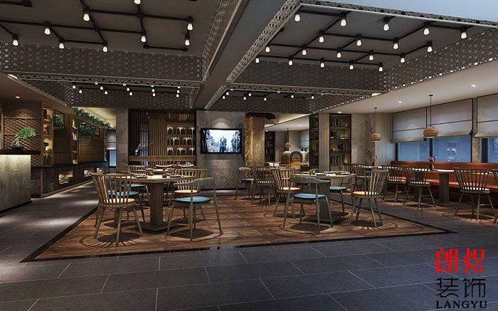 酒店室内装修设计餐厅布局