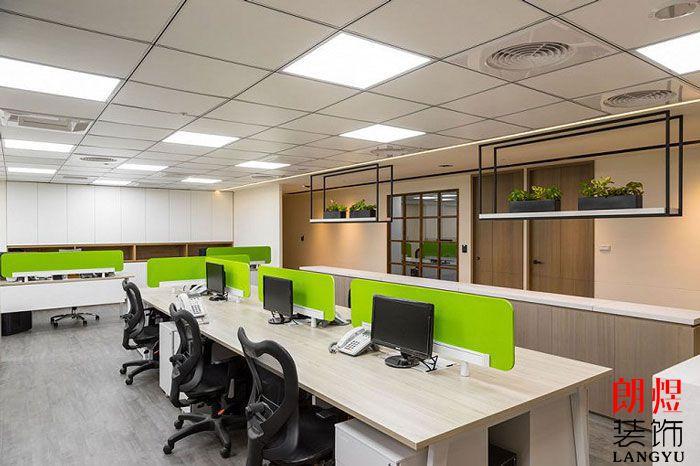 简约办公室设计办公区域