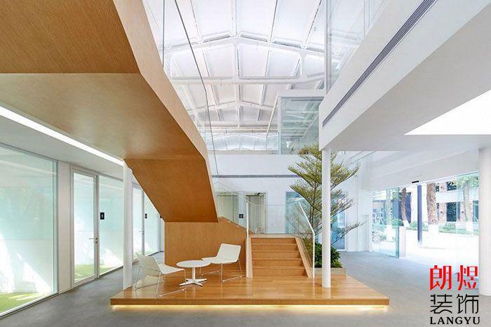 简约办公室设计一楼大厅