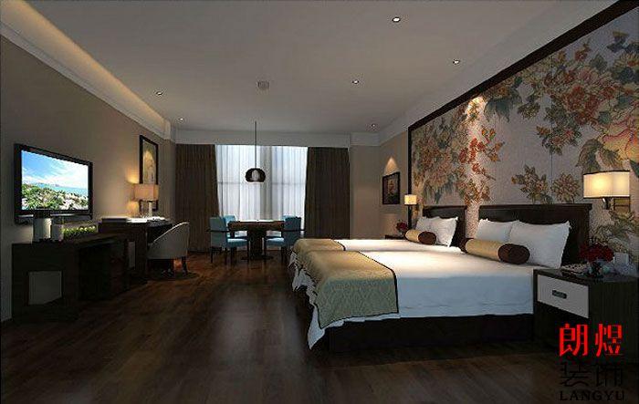 精品酒店设计案例商务标准间