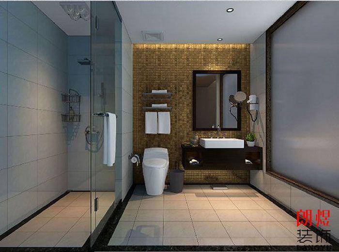精品酒店设计案例客房洗手间