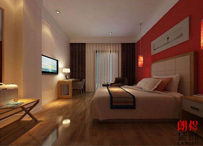 精品酒店设计案例大床房