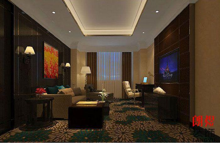 精品酒店设计案例套房