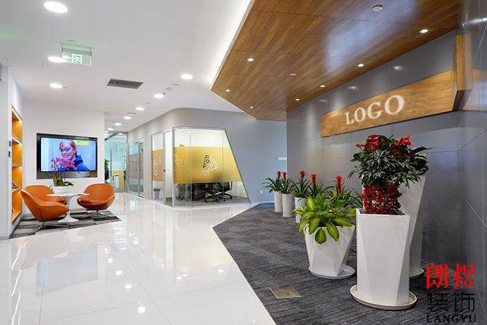 简约风格办公室设计办公入口