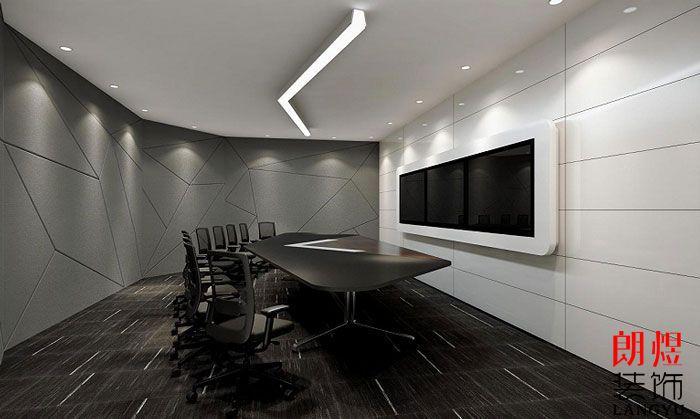简约风格办公室设计多媒体室