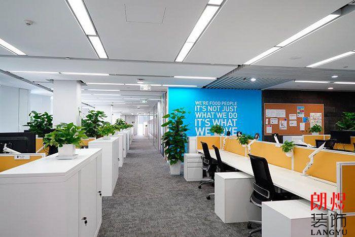 简约风格办公室设计公共办公区域