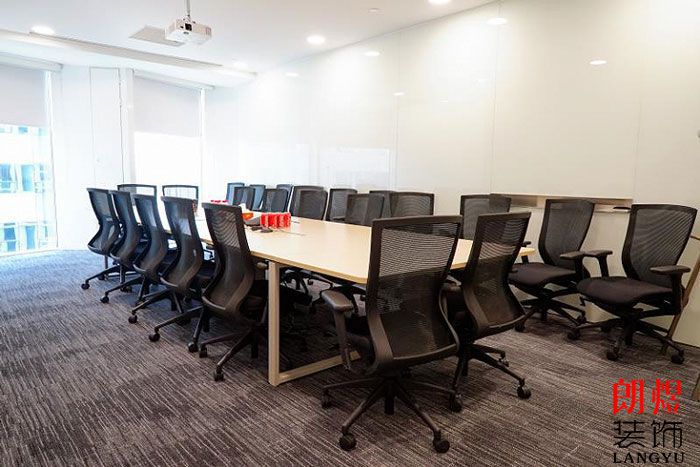 简约风格办公室设计会议室