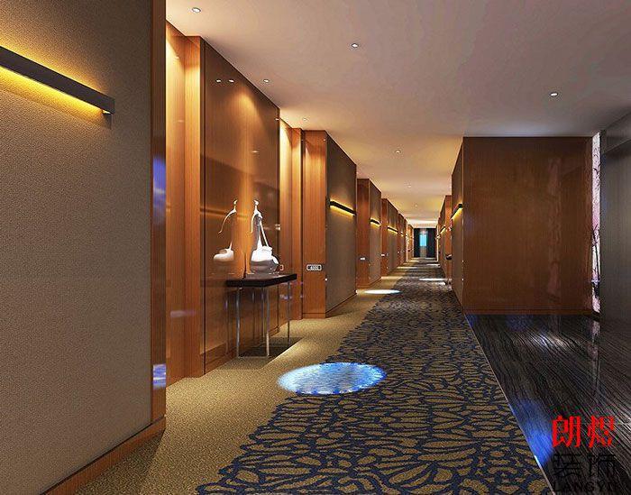 酒店设计案例客房走廊