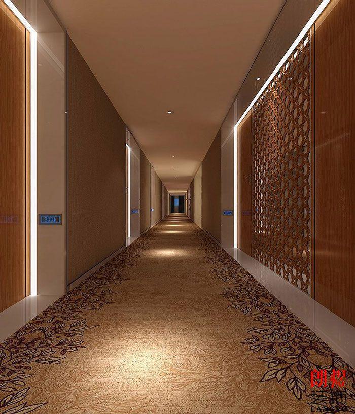酒店设计案例过道