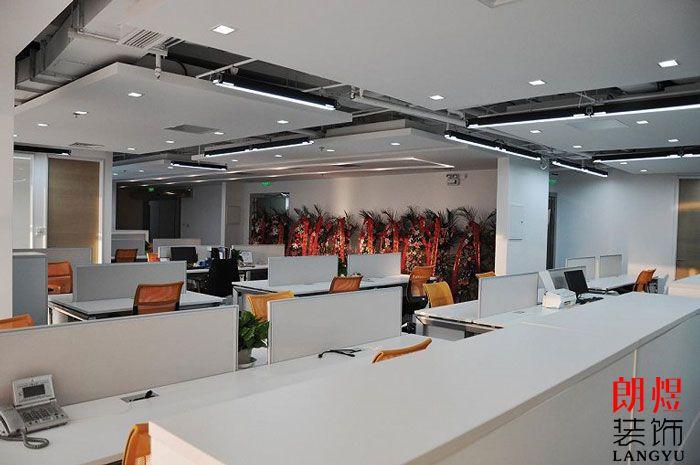 现代简约办公室装修办公区域