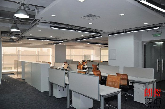 现代简约办公室装修公共空间