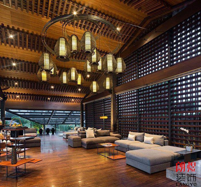 旅游度假酒店设计酒店休息区
