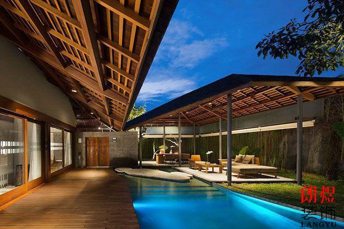 旅游度假酒店设计效果图-酒店室内装修效果图大全-朗