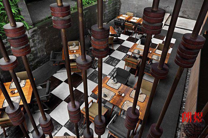 旅游度假酒店设计餐厅