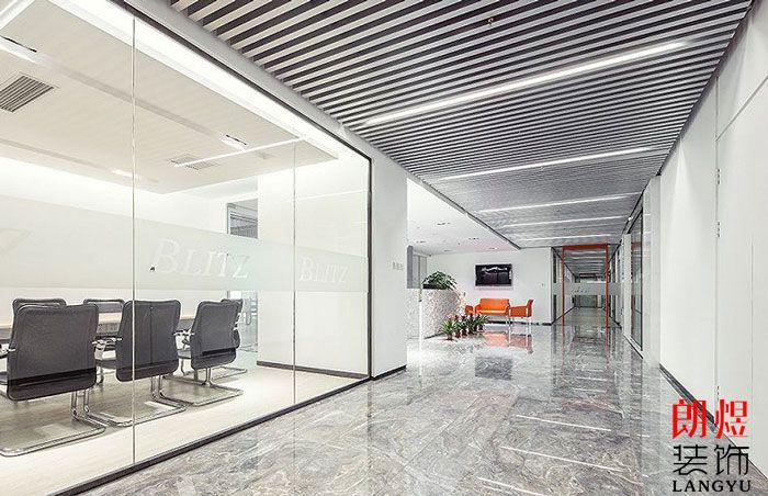办公装修设计过道走廊