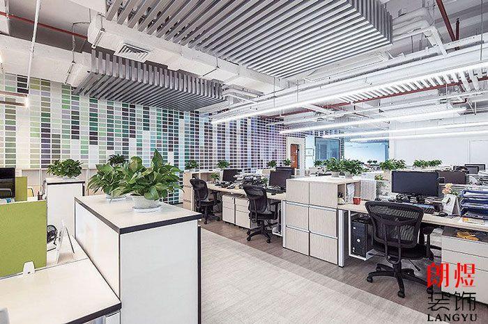 办公装修设计办公区
