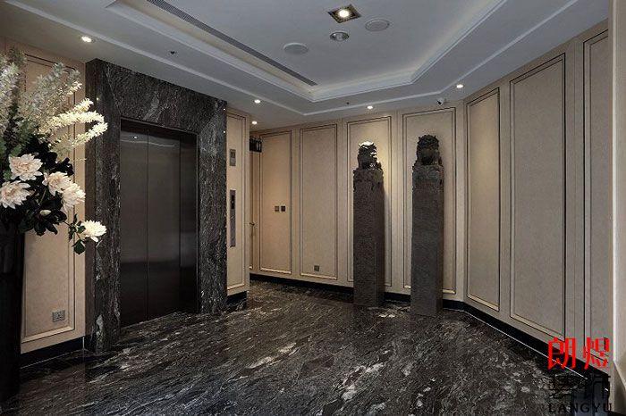 酒店设计方案电梯厅