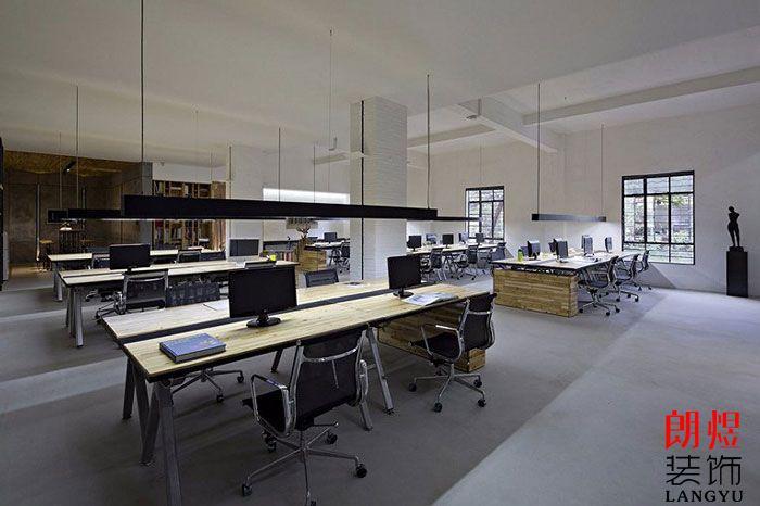 简约办公空间设计公共办公区