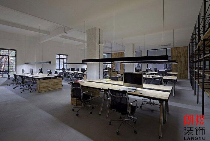 简约办公空间设计办公区空间