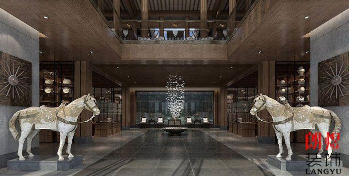 中式风格酒店设计游客中心