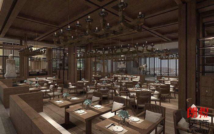 中式风格酒店设计餐厅