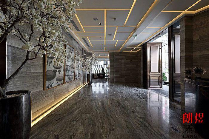酒店室内设计大堂走廊