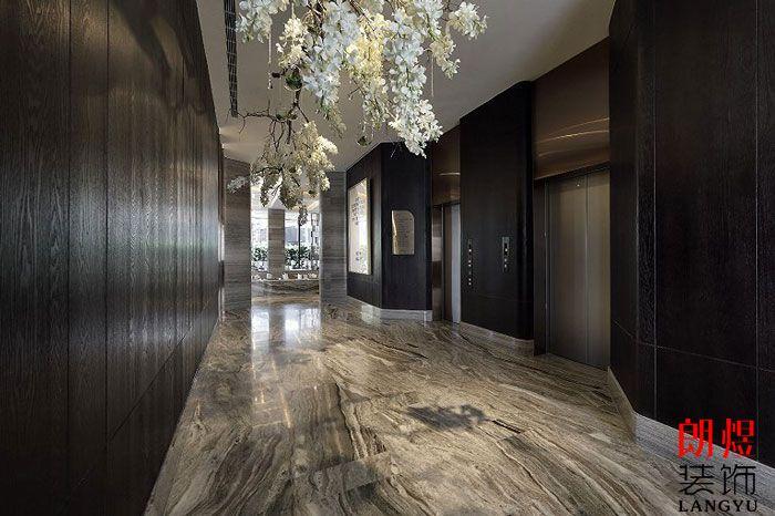 酒店室内设计电梯厅