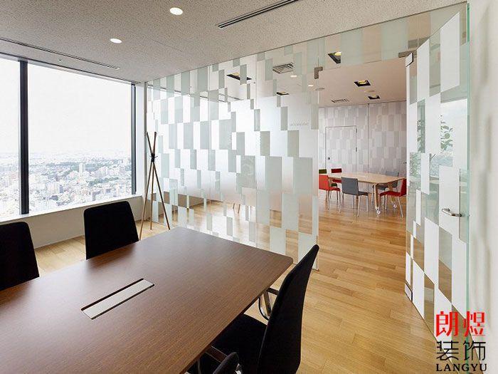 办公室装修实景图小会议室隔断