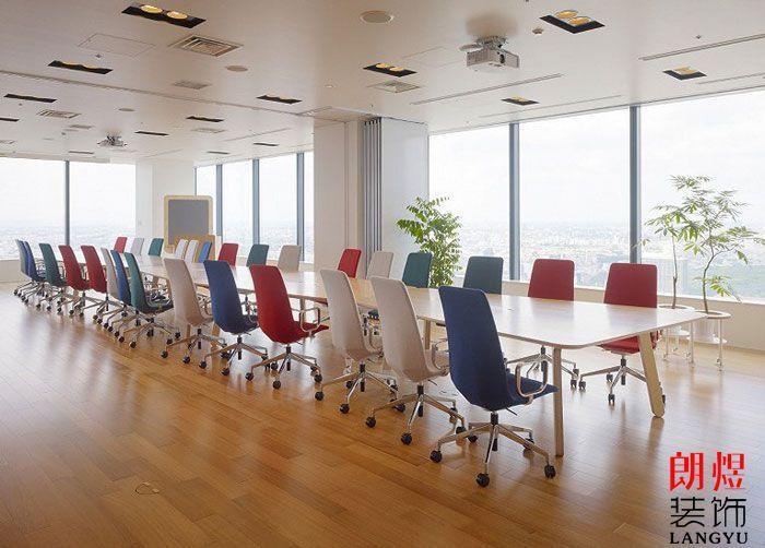办公室装修实景图会议室