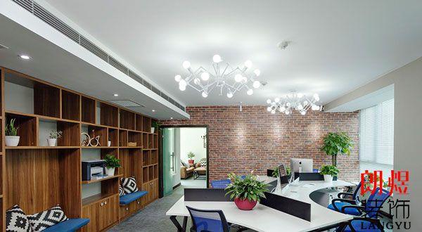 现代办公室装修装饰