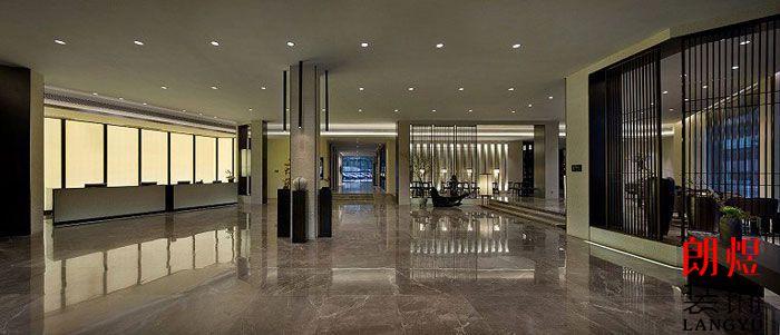 新中式酒店设计大堂