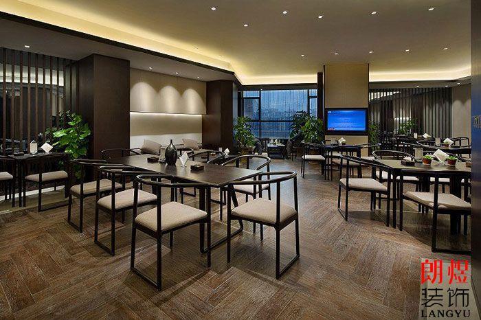 新中式酒店设计茶吧