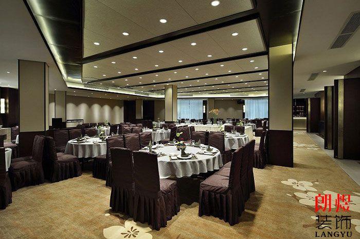 新中式酒店设计宴会厅