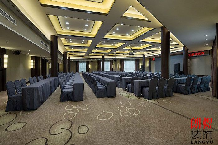 新中式简朴酒店装修设计图