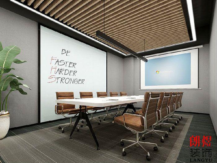 精品办公室装修会议室