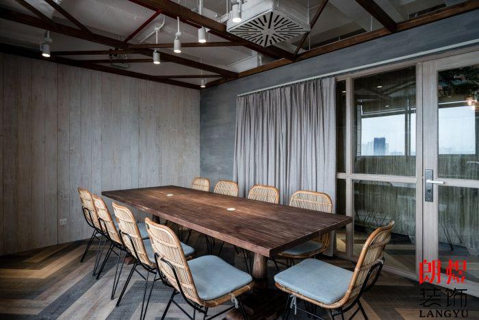 工业风工作室装修会议室