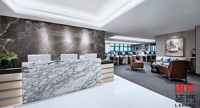 金融投资公司办公室装修欣赏