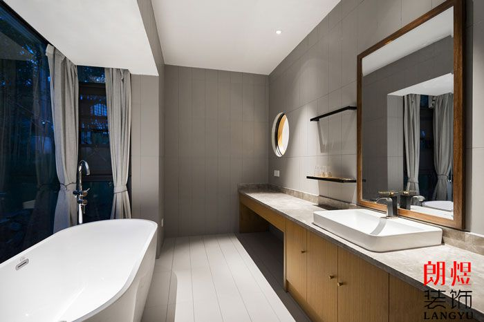 民宿设计方案房间浴室