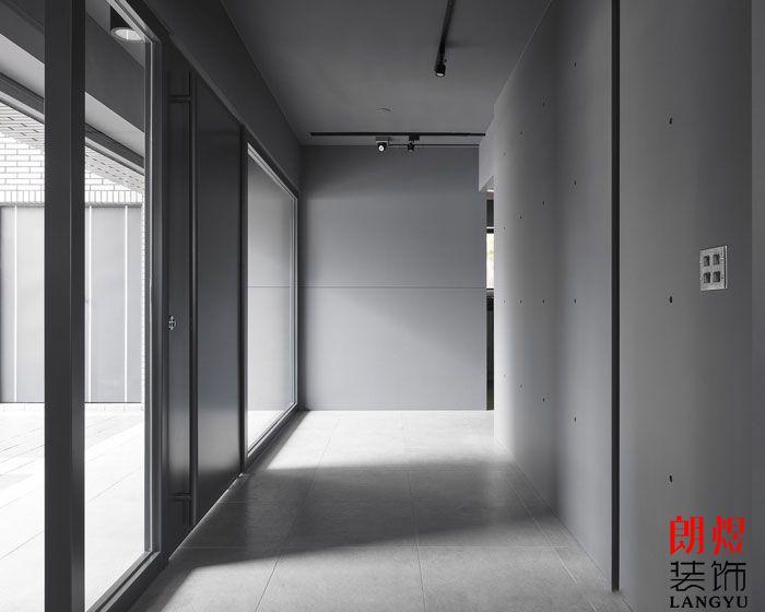 办公室设计效果图走廊