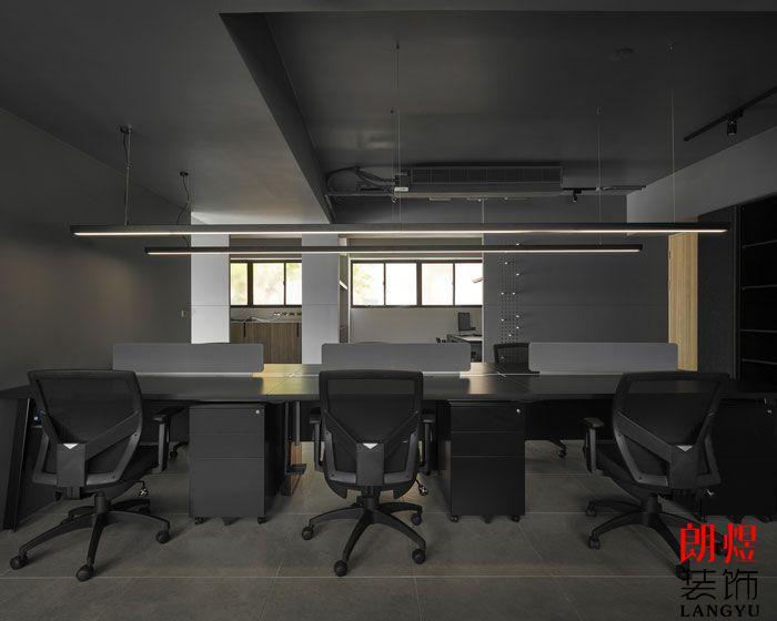 办公室设计效果图办公区