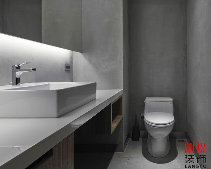 办公室设计效果图洗手间
