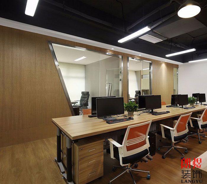 现代办公空间办公区