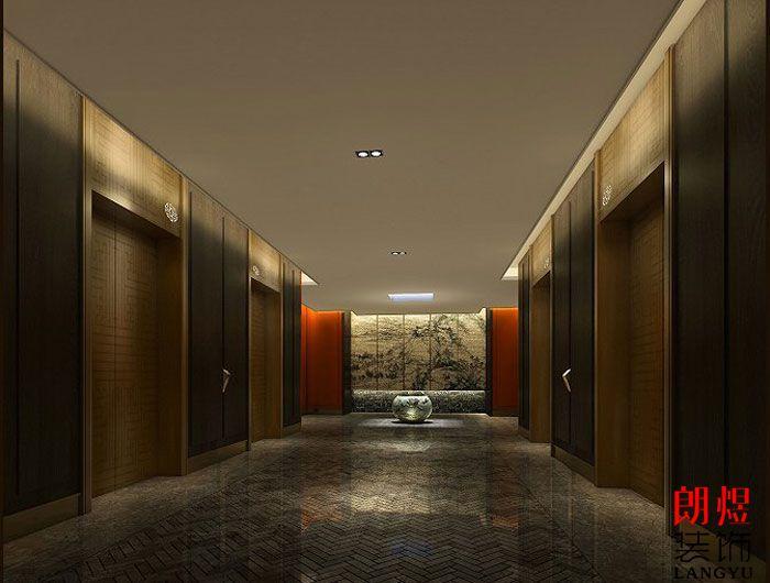 星级酒店装修设计-电梯厅